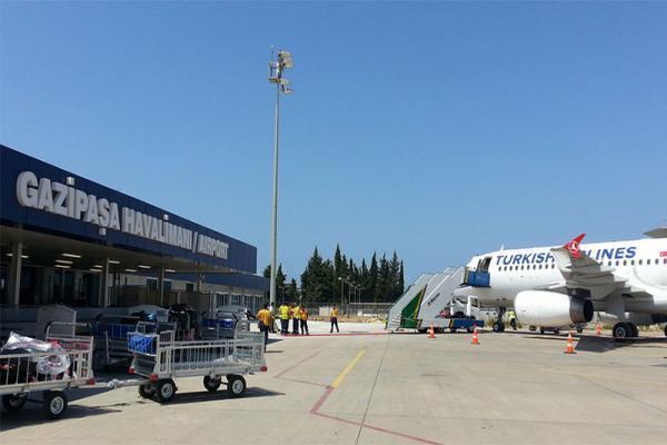 Аэропорт Алании Газипаша фото