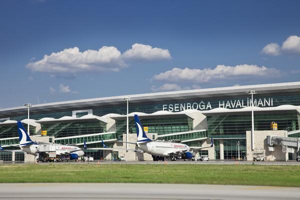 Аэропорт Анкары Эсенбога фото