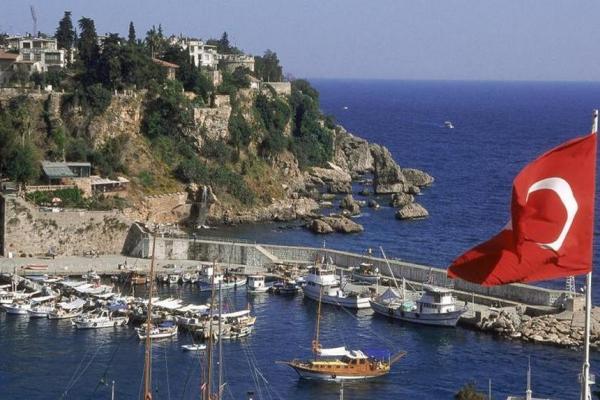 Antalya panoramic photo