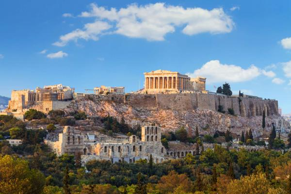 Athens panoramic photo