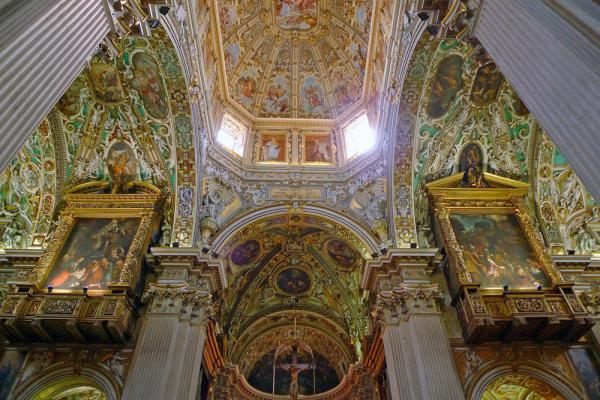 Basilica of Santa Maria Maggiore in Bergamo photo