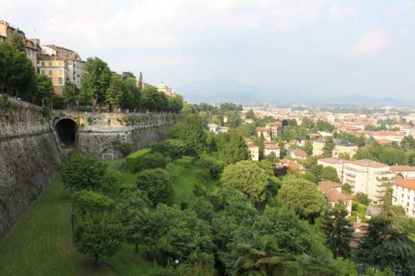 Venetian Walls in Bergamo photo