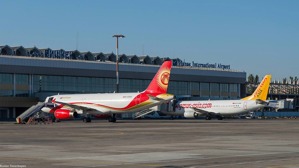 Аэропорт Бишкека Манас фото