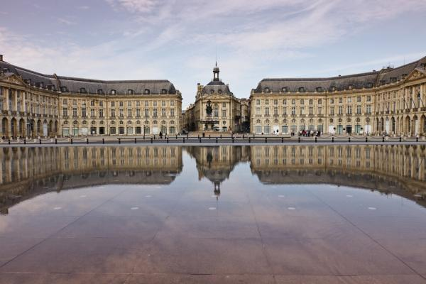 Water Mirror Square in Bordeaux photo