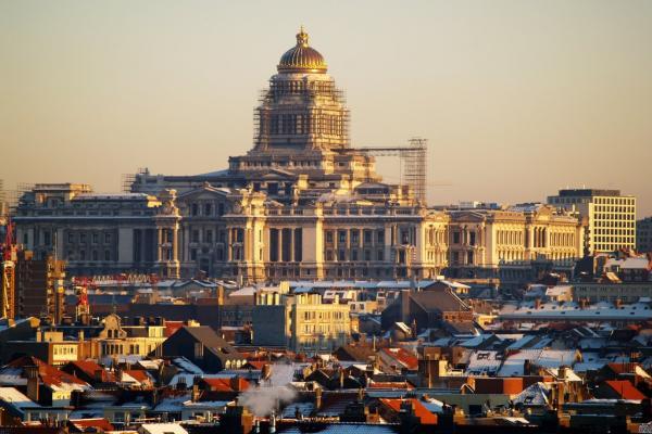 Брюссель панорамное фото