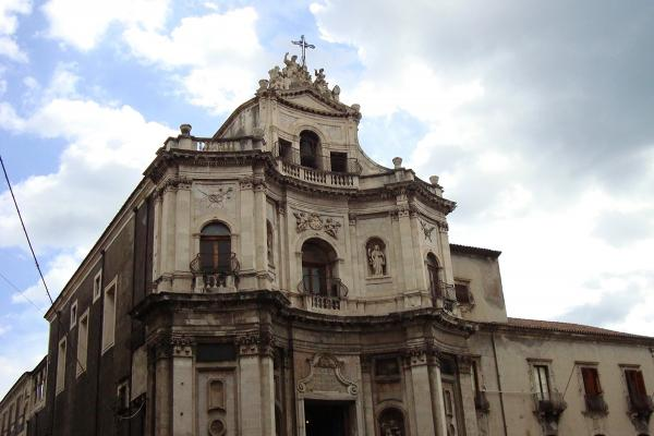 Church of the Abbey of St. Agatha in Catania photo