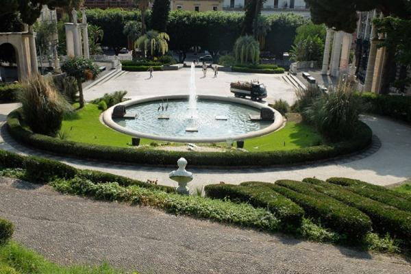 "Park ""Villa Bellini"" in Catania photo"