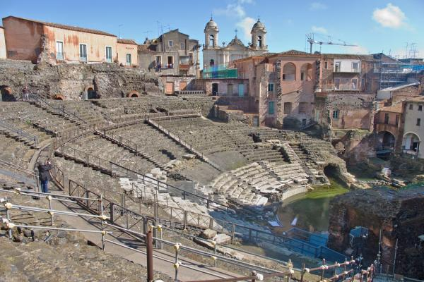 Roman theater photo