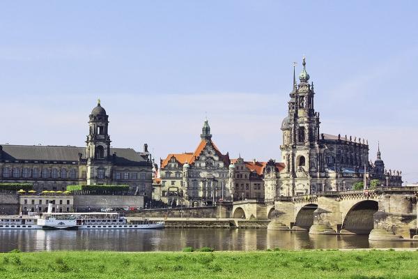 Dresden panoramic photo