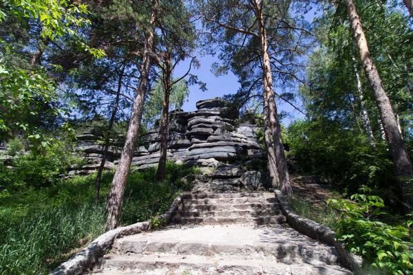 Shartashsky stone tents photo