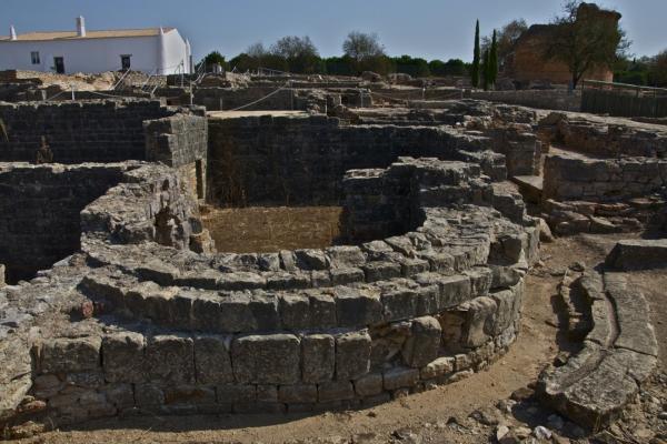 Roman ruins Milreu photo