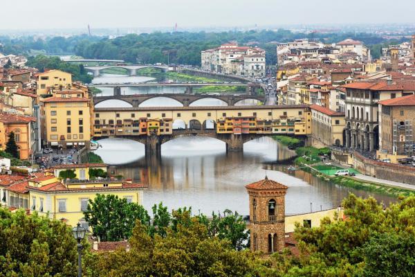 Флоренция панорамное фото