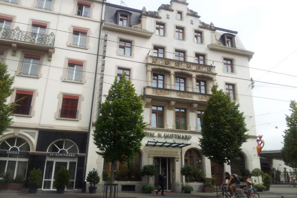 Hotel St.  Gotthard Basel photo