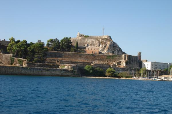 Old fortress of Kerkyra photo
