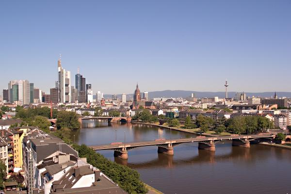 Frankfurt am Main panoramic photo