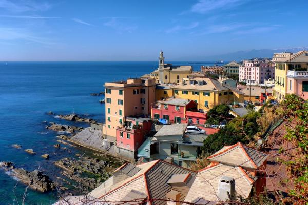 Genoa panoramic photo