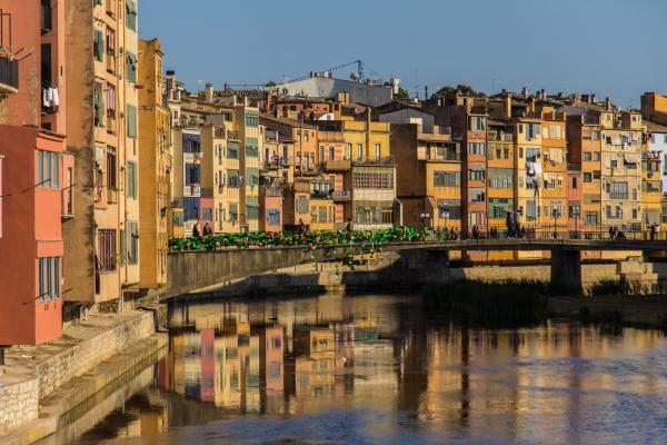 Girona panoramic photo