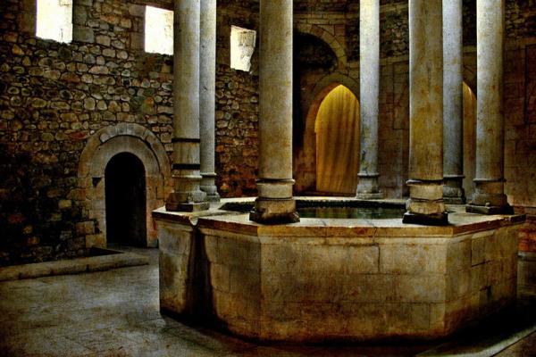 Arab baths photo