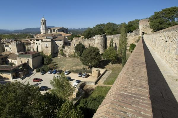Walls of Girona photo