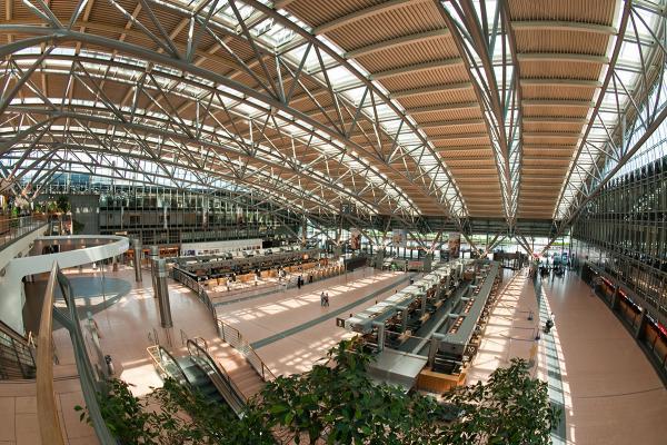 Аэропорт Гамбурга фото