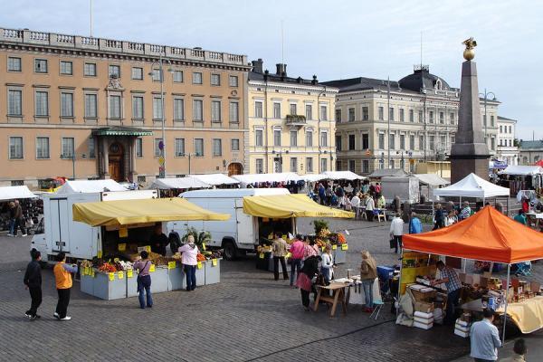 Foto de la plaza del mercado