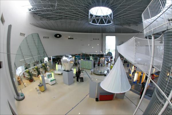 Foto del centro de ciencia popular Eureka