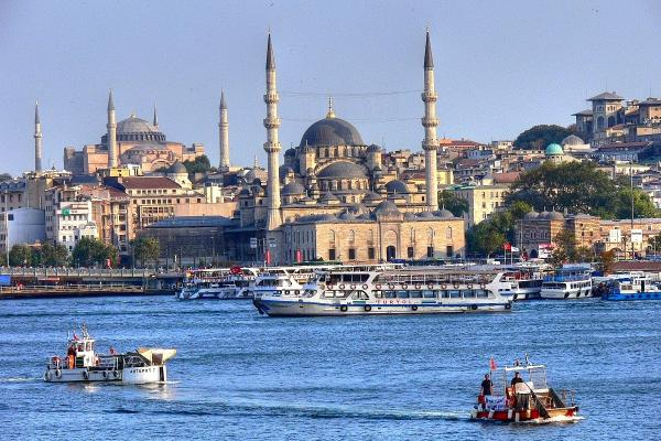 Foto panorámica de Estambul
