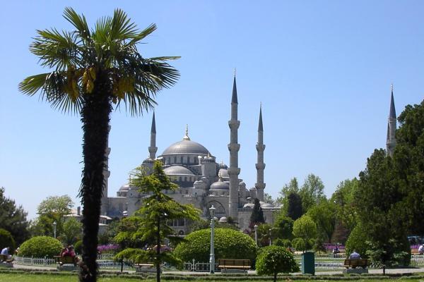 Foto de la mezquita azul