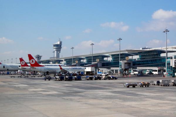 Аэропорт Стамбула фото