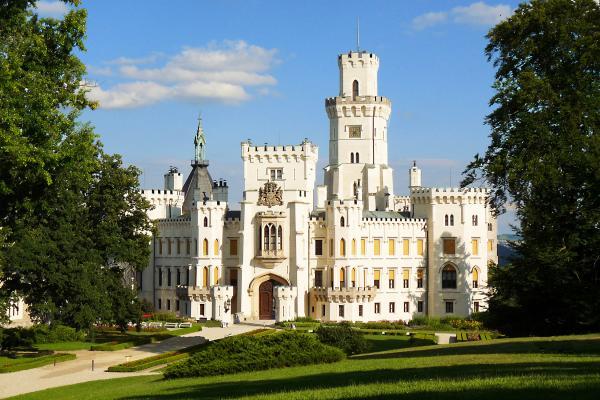 Замок Глубока-над-Влтавой фото