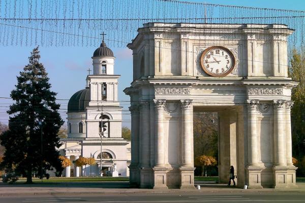 Chisinau panoramic photo