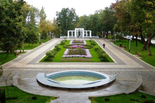 Городской сад фото