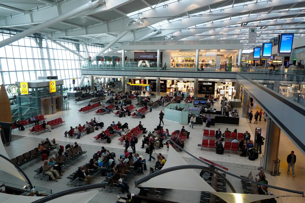 Аэропорт Лондона Гатвик фото