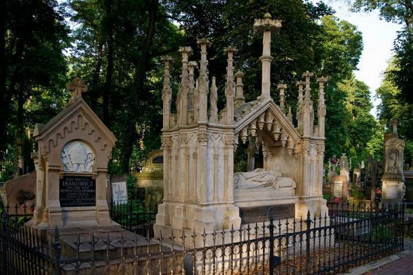 Lychakiv cemetery photo