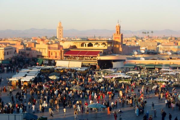 Jem El Fna Square photo