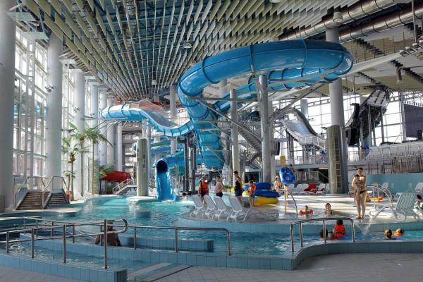 Water park in Minsk photo