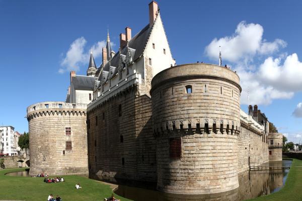 Замок герцогов Бретонских фото