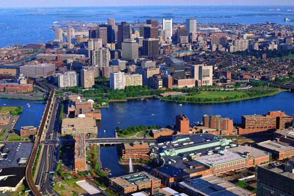 Бостон фото