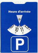 Голубые парковочные зоны