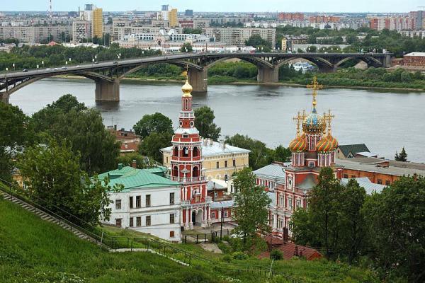 Нижний Новгород панорамное фото