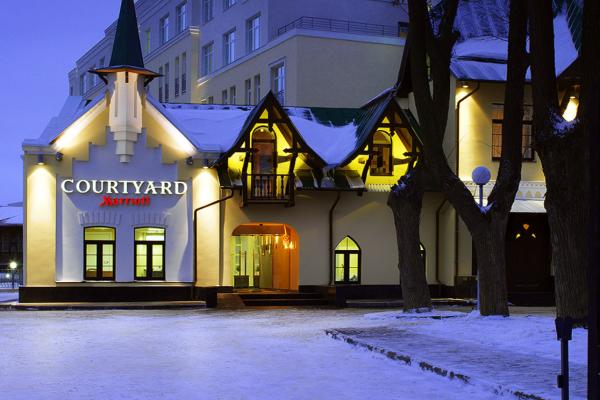 Courtyard Нижний Новгород Сити Центр фото