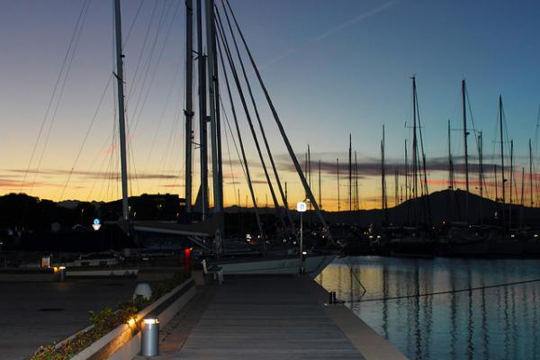 Port of Olbia photo