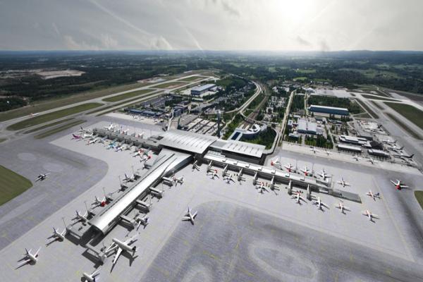 Аэропорт Осло Гардермуэн фото