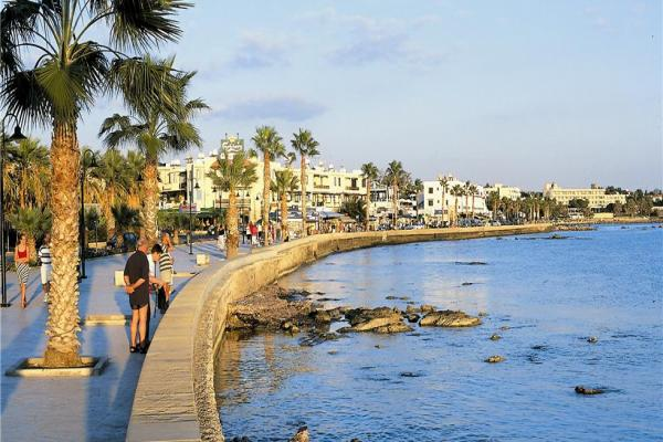 Paphos panoramic photo