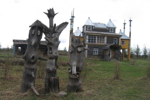 Музей деревянной скульптуры фото