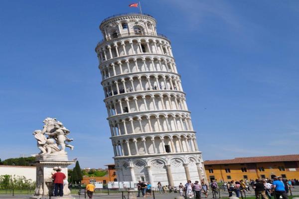 Пизанская башня фото