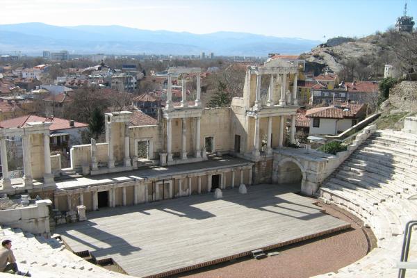 Plovdiv panoramic photo
