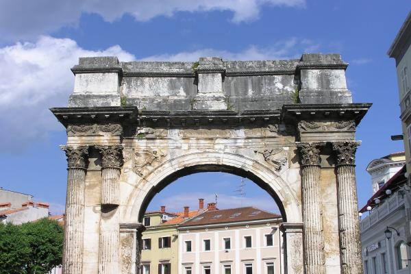 Triumphal Arch Sergius photo