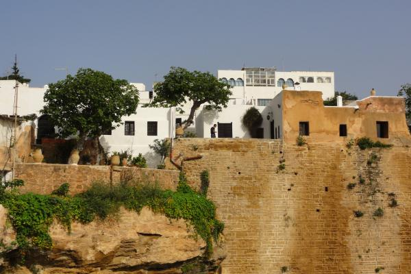 Photo de la forteresse de la Kasbah Udaya