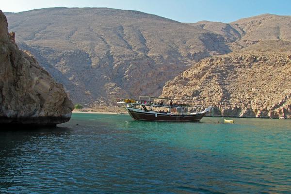 Полуостров Оман фото